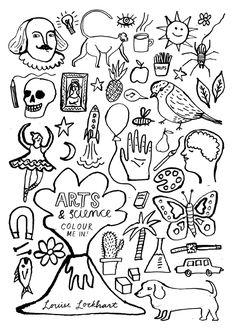 Arts & Science - Louise Lockhart   Illustration   Design   The Printed Peanut