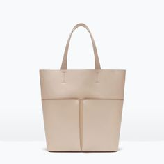 SHOPPER BAG WITH POCKETS