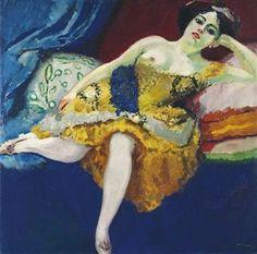 Kees van Dongen (1877-1968) , La cuirasse d'or