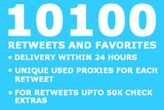 tweetretweet: add 10100 RETWEETS and Favorites to your Tweet to optimize your Twitter and Seo for $5, on fiverr.com