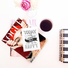 #summer #magazines #coffee #fashion #trend #style #fashionlook