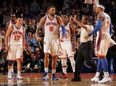 Knicks    Jeremy Lin    Tyson Chandler    Iman Shumpert  Carmelo Anthony
