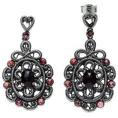 Damen-Ohrschmuck Hängerstecker 16 Granate Silber Dreambase http://www.amazon.de/dp/B0152A911Q/?m=A105NTY4TSU5OS