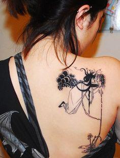 Aubrey Beardsley Salome tattoo