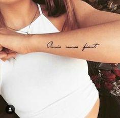 Omnia causa fiunt dream tattoo