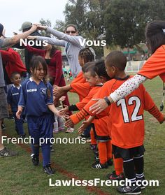 Nous and vous might seem like a couple of subject pronouns at first glance. Nous aimons, vous aimez, nous mangeons, vous mangez... but they're far more versatile than that. In fact, nous and vous are five different kinds of pronouns. #french #lawlessfrench #learnfrench