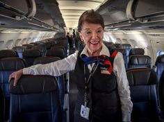 At 81, American Airlines flight attendant Bette Nash shows no signs of slowing down.