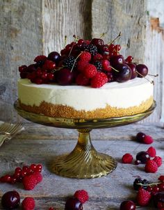 Osteiskake Cheesecake Decoration, Japanese Cheesecake, Pudding Desserts, Cookie Recipes, Goodies, Baking, Cheese Cakes, Food, Brownies