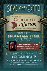 Chocolate Infusion returns to Nevada City.