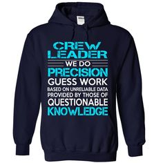 Awesome Shirt For Crew ༼ ộ_ộ ༽ Leader***How to ? 1. Select color 2. Click the ADD TO CART button 3. Select your Preferred Size Quantity and Color 4. CHECKOUT! If you want more awesome tees, you can use the SEARCH BOX and find your favorite !!Crew Leader