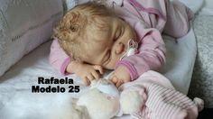 Bebê Boneca Reborn Rafaela Toda em vinil