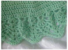 Free Baby Crochet Patterns   Baby Blanket Crochet Pattern Shell   Crochet Guild