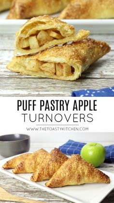 Puff Pastry Apple Turnovers - The Toasty Kitchen Puff Pastry Apple Turnovers - The Toasty Kitchen,The Toasty Kitchen Recipes Puff Pastry Apple Turnovers - The Toasty Kitchen appetizers and drink pastry recipes cabbage rolls recipes cabbage rolls polish Puff Pastry Desserts, Puff Pastry Recipes, Köstliche Desserts, Tart Recipes, Cooking Recipes, Plated Desserts, Puff Pastries, Puff Pastry Tarts, Pastries Recipes