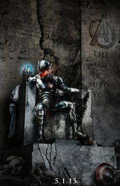 Ultron en su trono