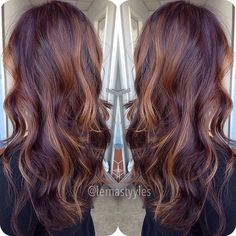 Beautiful Mahogany Hair Color - Fall Hair Colors