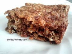 Peanut Butter Granola Bars (Dairy Free and can be Gluten Free too!)