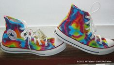 Tie-Dye Converse Shoes