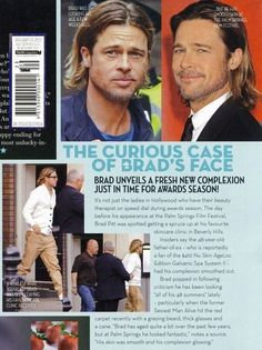 Check this out! Brad Pitt uses the Galvanic Spa II to keep looking young. This is the same system that you can purchase! It's not a celebrity secret anymore, you too can start looking young just like Brad Pitt!