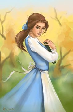 Belle (Beauty and the Beast) Kinda looks like the chick from divergent.