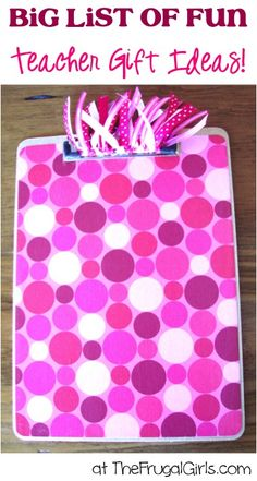 Clipboard Crafts: How to Make Customized Decorative Clipboards! - The Frugal Girls : How to Make Decorated Clipboards {Thrifty Gift Idea!}The Frugal Girls in Crafts, Thrifty Gifts Teacher Appreciation Gifts, Teacher Gifts, Volunteer Appreciation, Student Teacher, Teacher Stuff, Craft Gifts, Diy Gifts, Crafts To Make, Fun Crafts