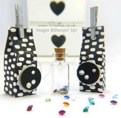 South Hill Designs & Stampin' Up! Gem Jar Box Tutorial