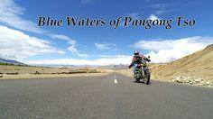 Blue waters of Pangong Tso - Ladakh
