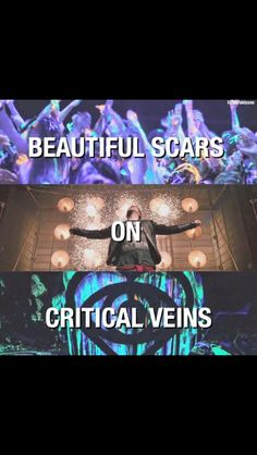 All time low  Kids in the dark  Beautiful scars on critical veins  Future hearts