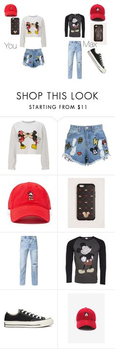"""Disney Quiz"" by courts-horan13 on Polyvore featuring Miss Selfridge, Disney Stars Studios, Forever 21, Torrid, Ksubi, Disney and Converse"