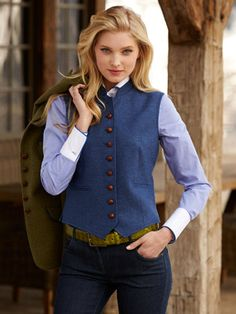 Women's Fall Vests - Gorsuch