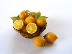 My tiny world: Dollhouse miniatures: Lemons