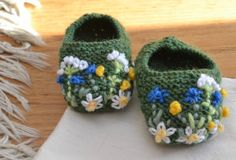 Summer Meadow Baby Shoes
