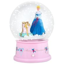 Holiday SnowGlobe Cinderella