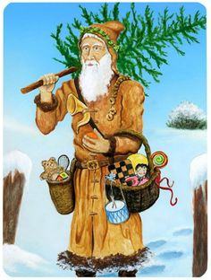 Director Emoting (King of Cups) from the Snowland Tarot King Of Cups, Magnificent Beasts, Cup Art, Heart For Kids, Father Christmas, Imaginative Play, Green Man, Tarot Decks, Tarot Cards