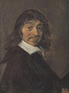 """Rene Descartes is geboren op 31 maart 1596. Hij hoorde bij het rijke gedeelte van die tijd. Geen adel maar bourgeoisie. Hierdoor kon hij studeren en reizen. Als je dit kon geloofde mensen je eerder. Hij was een filosoof. Hij zei dat elk mens een andere kijk op de wereld heeft. Zijn lijfspreuk was """"cogito ergo sum"""". Dit betekent ik denk dus ik ben. Hij twijfelde aan alles. Twijfel was het beginpunt van de wetenschap. Zonder twijfel heb je geen rede om iets te onderzoeken."""