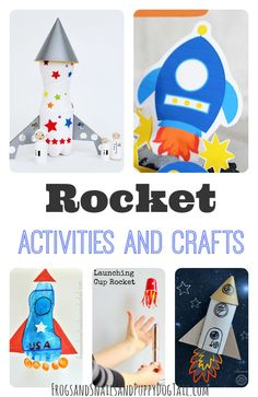 Rocket Activities and Crafts for Kids on FSPDT