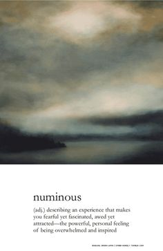Numinous, from my mornings on Lake Whatcom. An original large scale atmospheric landscape painting by Sharon Kingston. www.sharonkingston.com