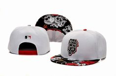 MLB-San Francisco Giants Snapback Hats White 7431