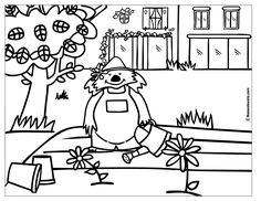 Coloring pages : Plant Coloring Page / picture / book / sheet