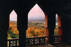 Olana, home of Frederick Church (Hudson River Valley school of painters).