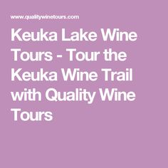 Day trip ideas in upstate ny 19 fun places to visit keuka lake wine tours tour the keuka wine trail with quality wine tours sciox Gallery