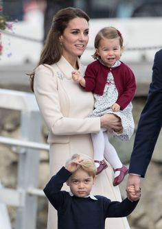 Princess Charlotte Stops, Smells the Roses, Is Adorable