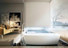 CORIAN® BATHTUB ONE TUBE BY MOMA DESIGN BY ARCHIPLAST