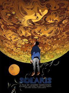 "lottereinigerforever: """"Solaris"" poster tribute Victo Ngai """