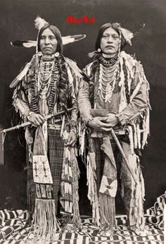 Bannock warriors