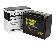 Yuasa YTX20L-BS,YTX20HL-BS, GTX20LBS 12v 18 Ah replacement Sealed Lead Acid Motorcycle Battery Yamaha Big Bear Grizzly Kodiak YFM400 400 450 600 660 700 ExpertPower®