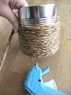 Sew Many Ways...: Tool Time Tuesday...Easy Rope Craft