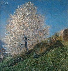 "Hans am Ende ""Blühender Baum"", 1907/1908"