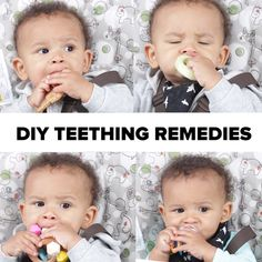 DIY Teething Remedies