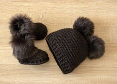 Newborn Winter Clothes, Baby Winter Hats, Baby Girl Winter, Crochet Baby Shoes, Crochet Baby Clothes, Cute Baby Clothes, Cute Kids Pics, Baby Coat, Toddler Girl Style