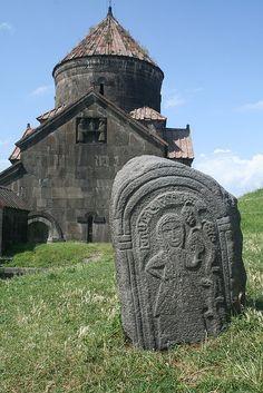 Cemetery in Armenia..